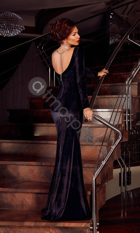 rochie-lunga-catifea-neagra-si-broderie-10