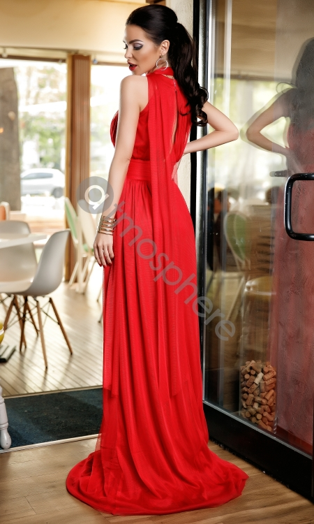rochie-lunga-tul-rosu-si-broderie-floral-10